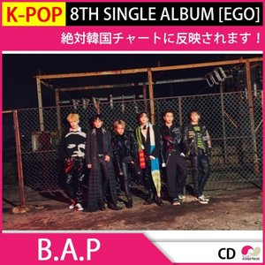 送料無料 1次予約限定価格 初回限定ポスター[丸めて発送] B.A.P SINGLE ALBUM 8集[EGO] 発売12月13発売 12月20日発送|koreatrade