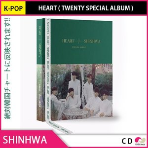 送料無料 1次予約限定価格 SHINHWA - HEART ( 20周年スペシャルアルバム ) (ALL YOUR 2018)  8月29日発売予定 9月5日発送予定 神話 シンファ|koreatrade