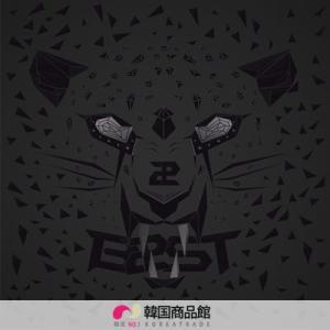 【韓国音楽】B2ST(BEAST ビスト)【一般版】 1st 「FICTION AND FACT」(1集) b2st ギグァン  ドゥジュン  beast  (限定)|koreatrade