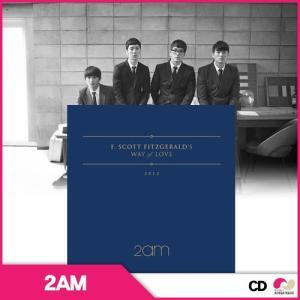 【韓国盤CD】2AM MINI ツーエーエム(2am)ミニアルバム F.Scott Fitzgerald's Way Of Love|koreatrade