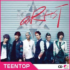 【韓国盤】TEEN TOP 3rd Single Album 「ARTIST」 シングルアルバム VOL.3 teentop 3rd・ティンタプ・ティーントップ・ミニ・3集|koreatrade