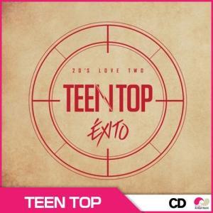 ★ティンタプ(TEEN TOP) -  TOP 20'S LOVE TWO EXITO(リパッケージアルバム) ◆ ランダムフォトカード1枚 koreatrade