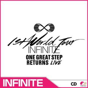 予約 4/10 インフィニット(INFINITE) -  ONE GREAT STEP RETURNS LIVE ALBUM(2CD)|koreatrade
