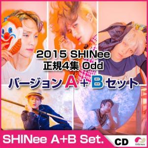 予約5/26 2015 SHINee 正規4集「オード」A + B VER Set(Odd) ★odd★オンユ、ジョンヒョン、キー、ミンホ、テミン|koreatrade