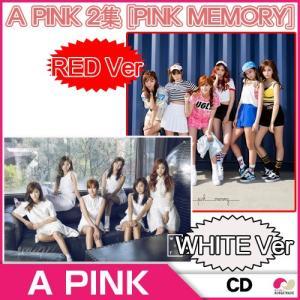 【1次予約】【初回ポスター】A-PINK 正規 2集 『Pink Memory』★Red / White Ver 選択可能(07.21発売)★【K-POP】【CD】|koreatrade