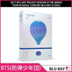 送料無料 1次予約限定価格 2017 BTS LIVE TRILOGY EPISODE III THE WINGS TOUR IN SEOUL CONCERT BLU-RAY (3 DISC) 発売11月30日 12月4日発送予定 koreatrade