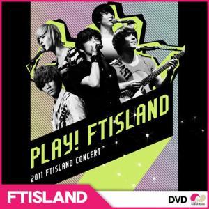 【SALE】【韓国盤DVD】 FTISLAND 「PLAY! FTISLAND!! 」【初回限定盤】2DVD+Photobook 2011コンサート|koreatrade
