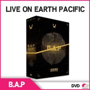 【送料無料】【韓国盤DVD】 B.A.P - B.A.P LIVE ON EARTH PACIFIC (3 DISC) + フォトブック|koreatrade