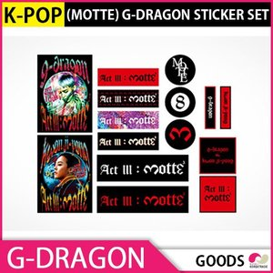 1次予約限定価格 [MOTTE]G-DRAGON STICKER SET 公式グッズBIGBANG GOODS KPOP 発売6月末 7月初発送|koreatrade