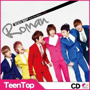 【韓国盤CD】Teen Top(ティーントップ)1st Mini Album「Roman」★teentop 1st mini  - ティントップ roman ロマン CD|koreatrade