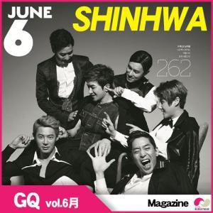 【韓国雑誌】「GQ 6月号」神話(SHINHWA) ジーキュー|koreatrade