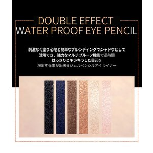 メール便 送料無料 シスターエンダブルエフェクトウォータープルーフアイペンシル(Double Effect Water Proof Eye Pencil) キラキラ SISTER ANN / シスターアン koreatrade 05