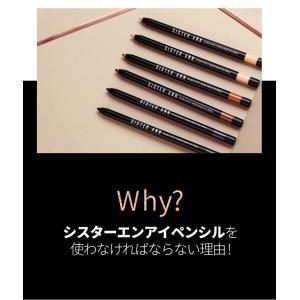 メール便 送料無料 シスターエンダブルエフェクトウォータープルーフアイペンシル(Double Effect Water Proof Eye Pencil) キラキラ SISTER ANN / シスターアン koreatrade 07