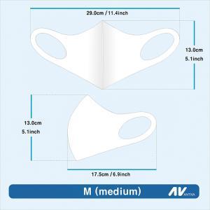 メール便 送料無料 MAU 3D立体型マスク 水洗浄OK ファッションフェイスカバー2枚セット 3D立体型マスク  洗える 水洗浄OK マスク 韓国製 UV遮断|koreatrade|20