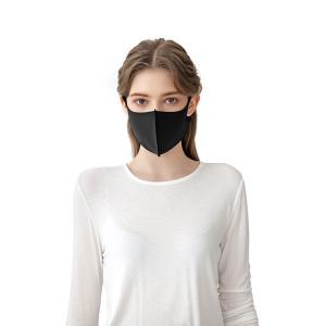 メール便 送料無料 MAU 3D立体型マスク BLACK+@ 2枚セット 水洗浄OK ファッションフェイスカバー 3D立体型マスク 洗える 水洗浄OK マスク|koreatrade|05