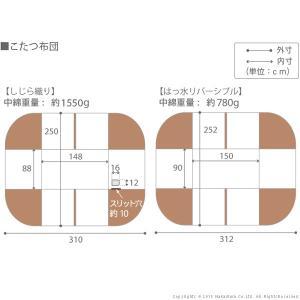 こたつ 長方形 テーブル 人感センサー・高さ調節機能付き ダイニングこたつ 〔アコード〕 150x90cm+専用省スペース布団 2点セット|koreene|05