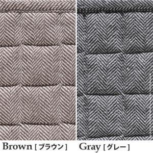 ホットカーペット カバー ヘリンボーンホットカーペット・カバー 〔フランクリン〕 1.5畳(185x130cm)+ホットカーペット本体セット 洗える|koreene|04