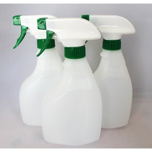 ・500ml空スプレーボトル3本セット ・容量500ml/本 ・横幅105ミリ×高さ210ミリ×厚さ...