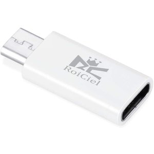 Roiciel USB-C & Micro変換アダプタ (Type-C USB → Micro変換ア...