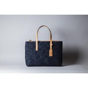 岡山デニムのトートビジネスバッグ 国産鞄 スマートデザイン A4以上対応 koroku-store