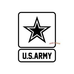 ARMYカッティングステッカー(黒・C)■ゆうパケット発送OK|koromini
