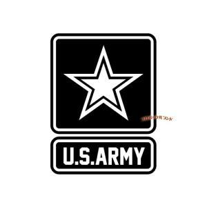 ARMYカッティングステッカー(黒・A)■ゆうパケット発送OK|koromini