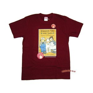 サイン入り95周年記念Tシャツ(キャメルバーガンディ)■ゆうパケット発送OK|koromini