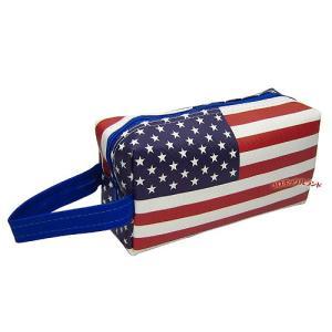 USAフラッグポーチ(手付きNEW柄)■ゆうパケット発送OK koromini