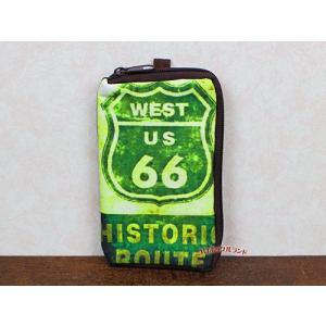 Lラインジップポーチ(WEST66)■ゆうパケット発送OK koromini