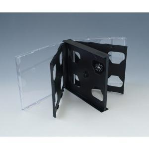 CD6枚用マルチケース 黒 100個 6枚収納CDケース Pケース|kosakashop