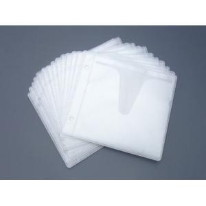 不織布CDケース用  2穴不織布ケース 100枚 2穴バインダーなどに kosakashop