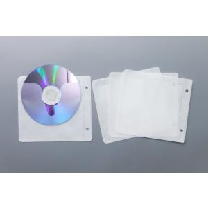 ブルーレイディスク対応 2穴不織布ケース 100枚|kosakashop