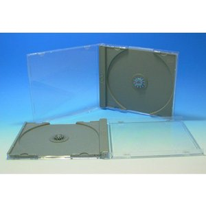 DVDジュエルケース(A型)グレー 200個|kosakashop