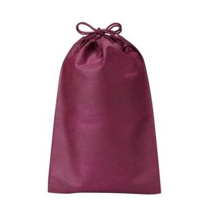 巾着袋 小 不織布バッグ 100枚  名入れ可能 送料無料 ノベルティ イベント ショップ用バッグ|kosakashop