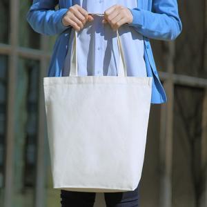 コットンエコバッグ 厚手シーチング マチ付き 200枚 1枚198円 無地・名入れプリント可能(トート・エコ)|kosakashop