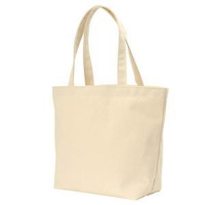 キャンバストートバッグ(横型/L) ナチュラル  50枚 1枚302円 無地・名入れプリント可能(コットン・エコ) kosakashop