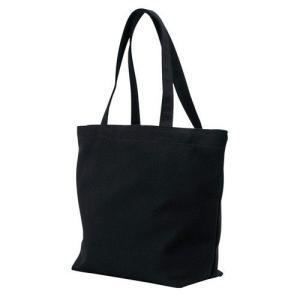 キャンバストートバッグ (横型/L)黒  50枚  1枚310円  無地 名入れプリント可能 コットンバッグ エコバッグ|kosakashop