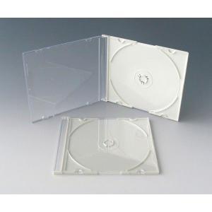 高品質  CDスーパースリムケース  100個  黒・白・半透明クリア 5mmPケース kosakashop