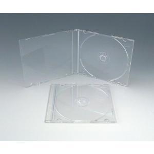 高品質  CDスーパースリムケース  100個  黒・白・半透明クリア 5mmPケース kosakashop 03