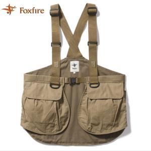 【ご予約3月末発売予定】 アルフラックスタックルベスト  Alflux Tackle Vest フォックスファイア Foxfire|koshi-tackleisland