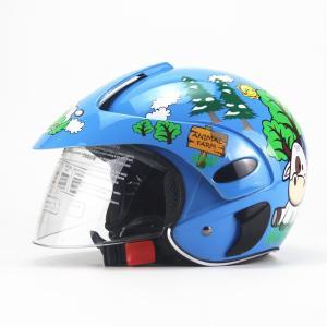 AHP-208 子供用ヘルメット  バイクヘルメット ジェット  多色選択可能 春、夏、秋、冬 PSC付き 送料無料|koshi
