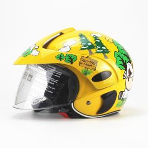 AHP-208 子供用ヘルメット  バイクヘルメット ジェット  多色選択可能 春、夏、秋、冬 PSC付き 送料無料|koshi|02