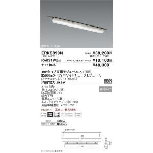 <title>遠藤照明 ERK8999N+RA-631WB (訳ありセール 格安) ERK8999N RA-631WB ベースライト 一般形 LED</title>
