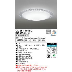 宅配便不可 T区分オーデリック照明器具 OL251701BC 国内正規品 リモコン別売 シーリングライト 定番スタイル LED