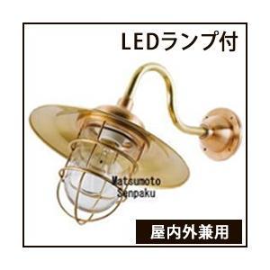 松本船舶明器具 R2S-AQ-G (R2S号アクアライト ゴールド) 屋外灯 その他屋外灯 LED