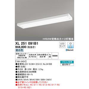 <title>宅配便不可 T区分オーデリック照明器具 XL251091B1 ランプ別梱包 NO341BB 海外並行輸入正規品 ×2 ベースライト 一般形 リモコン別売 LED</title>