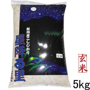 新米 玄米5kg 新潟産コシヒカリ5kg 新米 令和2年 玄米コシヒカリ 美味しいお米 玄米5kg コシヒカリ5キロ玄米|kosihikari