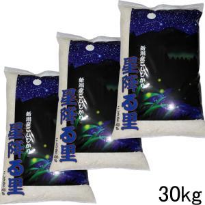 「送料無料」 新潟産コシヒカリ 30kg(30kg×1袋) ...
