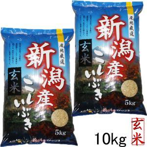 新米 玄米 玄米10kg 新潟県こしいぶき10kg (5kg×2袋)新米令和 2019 美味しい玄米 5kg×2袋 新潟県産米 10kg|kosihikari