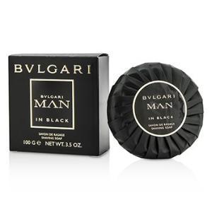 ブルガリ イン ブラック シェービング ソープ 100g kosmake-belleza
